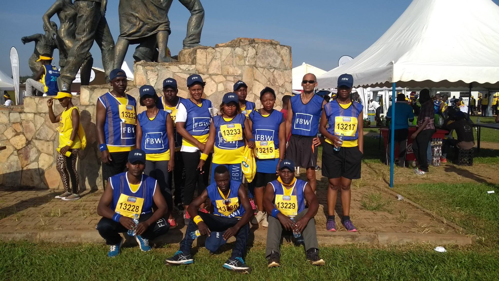 FBW team supports MTN Kampala Marathon